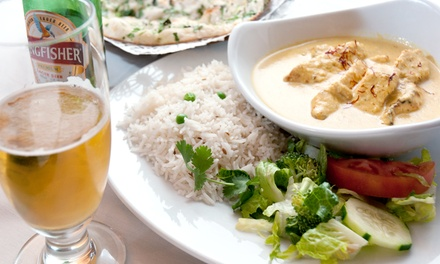 $15 for $25 Worth of Indian Food at India Garden