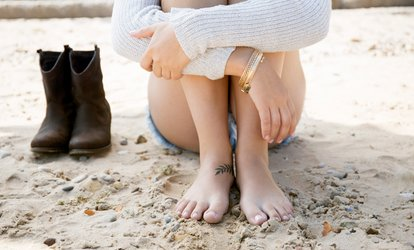 image for Laser Toenail-Fungus Removal for One or Both Feet at Inkfree, MD (Up to 57% Off)