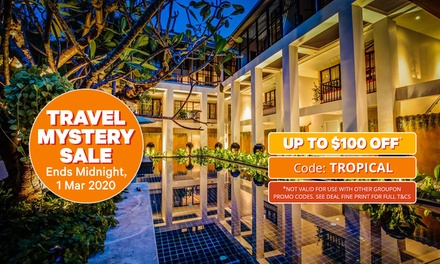 Thailand, Phuket: 2-8 Nights for Two with Brekky, Welcome Drink and Cocktail at Manathai Surin Phuket