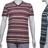 Dikotomy Men's Striped T-Shirts