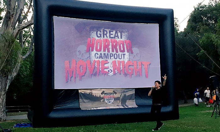 The Great Horror Campout - Elysian Park: One, Two, or Four VIP Tickets to Outdoor Movie Night, Presented by The Great Horror Campout (Up to 37% Off)