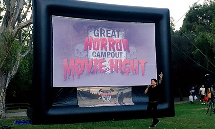 One, Two, or Four VIP Tickets to Outdoor Movie Night, Presented by The Great Horror Campout (Up to 37% Off)
