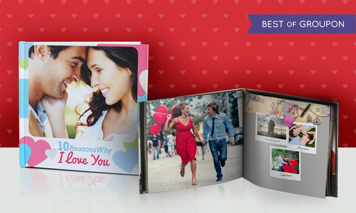 Photobook Canada: 40-Page Custom Photo Book from Photobook Canada (Up to 75% Off). Four Options Available.