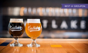 Eastlake Craft Brewery: Craft Beer Tastings for Two or Four at Eastlake Craft Brewery (Up to 53% Off). Four Options Available.
