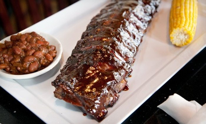 Blues Bar - Mount Prospect: $15.99 for $30 Worth of Barbecue and Drinks at Blues Bar