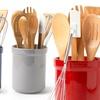 8-Piece Tub of Tools Kitchen-Utensil Set