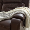 Ultra Plush Carved Faux Fur Sherpa Throw