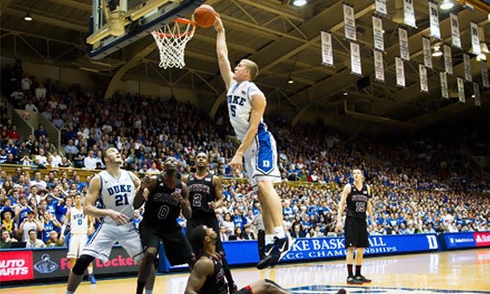 Duke vs. Temple - IZOD Center: Duke vs. Temple Men's College Basketball Game on Saturday, December 8 at the IZOD Center (Up to Half Off)