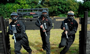 Bedlam Paintball: Bedlam Paintball: Group Experience from £4 at Multiple Locations (Up to 89% Off)