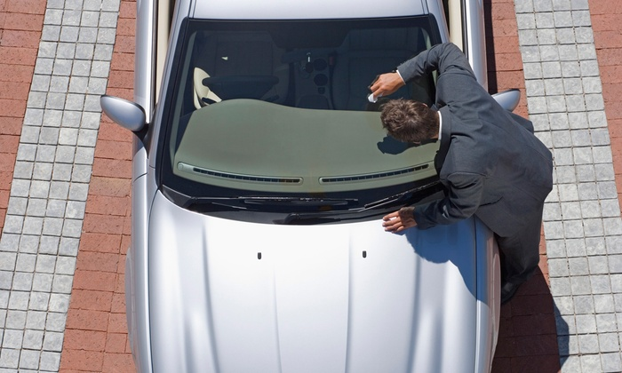 Henderson Glass - Multiple Locations: Two or Four Windshield Chip Repairs at Henderson Glass (Up to 71% Off)