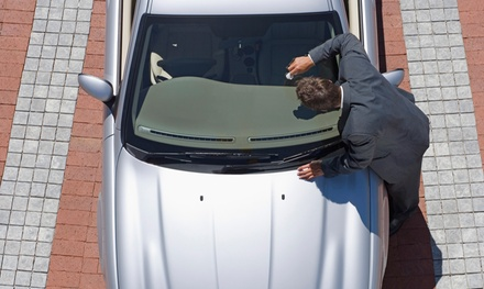 Two or Four Windshield Chip Repairs at Henderson Glass (Up to 71% Off)