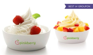 Pinkberry: One or Three Groupons, Each Good for C$10 Worth of Frozen Yogurt at Pinkberry (40% Off)