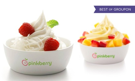 One or Three Groupons, Each Good for $10 Worth of Frozen Yogurt at Pinkberry (40% Off)