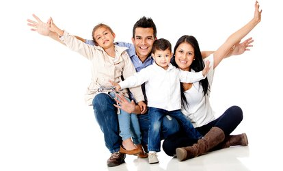 image for Family Photoshoot With Makeover, Massage and Print for £19 at Hello Gorgeous Studio (90% Off)