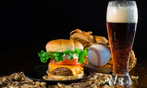 Florida Collegiate Summer League: Florida Collegiate Summer League Baseball Game for Two with Bubba Burgers and Drinks (June 3–July 31)