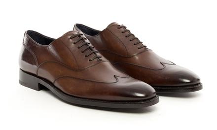 Ermenegildo Zenga Wingtip Balmoral Men's Shoes