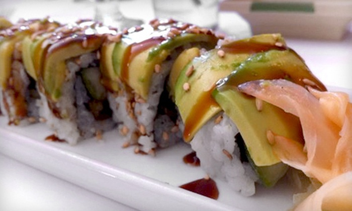 Haiku Sushi - Newton Square: Sushi Dinner with Appetizers and Maki Rolls for Two or Four at Haiku Sushi (Up to 52% Off)