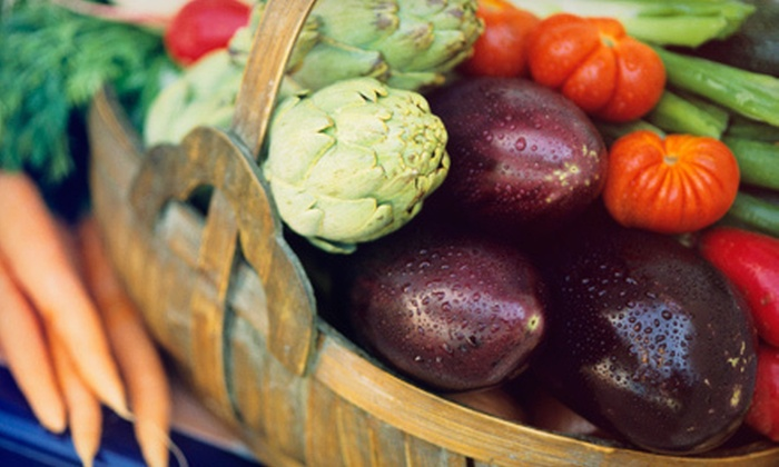 Brewers Organics - Milwaukee: $29 for Standard Box of Delivered Organic Produce and Registration Fee from Brewers Organics ($60 Value)