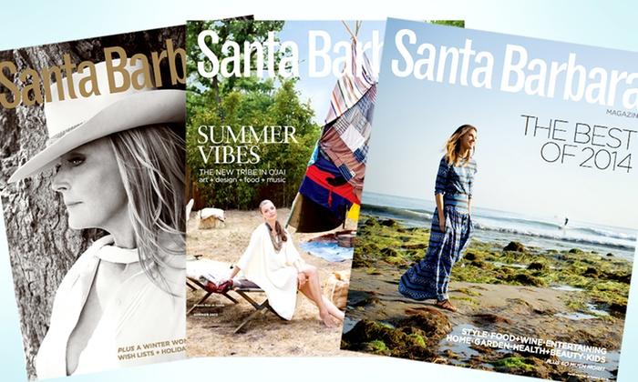 "Santa Barbara Magazine: One- or Two-Year Subscription to ""Santa Barbara Magazine"" (50% Off)"