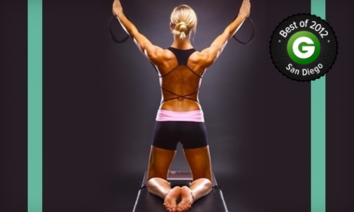 The Pilates Room - Multiple Locations: 8 or 16 Pilates Classes at The Pilates Room (Up to 80% Off)