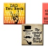 Set of 4 Father's Day Magnets