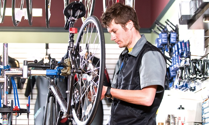FlyTi Bike Lab - Mid-Wilshire: One or Two Basic Mobile Bike Tune-ups with Brake Adjustments and Wheel Realignments, at FlyTi Bike Lab (Up to 58% Off)