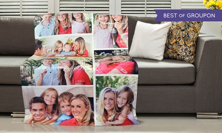 Photo Collage Blanket or Custom Play Blanket from Dinkleboo (Up to 86% Off)