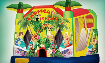$199 for a Water-Slide Rental with a Snack Machine from The Waves of Entertainment ($440 Value)
