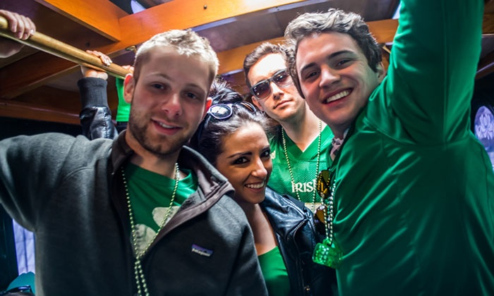 St. Patrick's Day Lincoln Park or Wicker Park Trolley Bar Tour & Crawl Event - Multiple Locations: St. Patrick's Day Bar Crawl — Lincoln Park Trolley Tour or Wicker Park Walking Tour on Saturday, March 12
