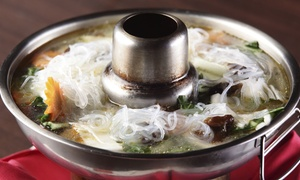 Boiling Hot Pot: All-You-Can-Eat Chinese Hot Pot Meal at Boiling Hot Pot (32% Off)