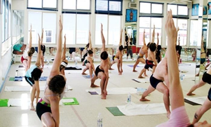 Funky Door Yoga Polk Street - Civic Center: 10, 20, or 30 Bikram-Yoga Classes at Funky Door Yoga Polk Street (Up to 88% Off)