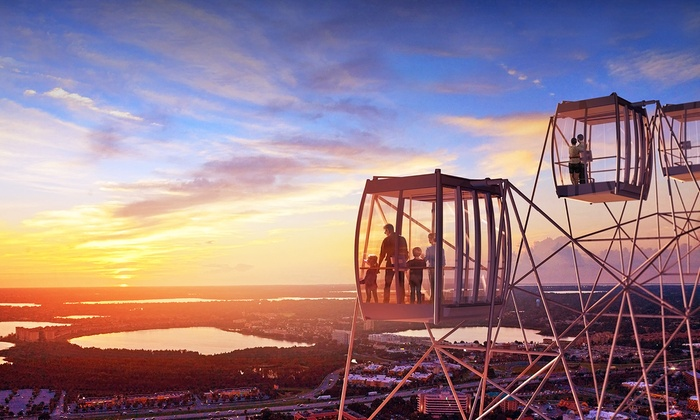 The Orlando Eye - The Orlando Eye: Ride for One Adult or Child on The Orlando Eye (Up to 25% Off)