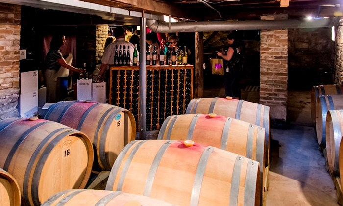 Captain's Walk Winery - Downtown: Wine Tasting for 2 or 4, or a Tasting Party for Up to 12 at Captain's Walk Winery (Up to 56% Off)