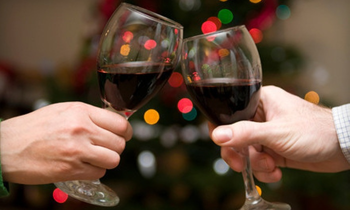 Santa's Wine & Food Lovers Holiday Bash - Irvine Center: Christmas-Themed Soiree for One or Two at Santa's Wine & Food Lovers Holiday Bash (Up to 72% Off)