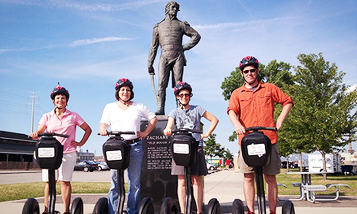 Segway the Fox - Downtown: 50-Minute Segway Experience for Two or Four from Segway the Fox (Up to 53% Off)