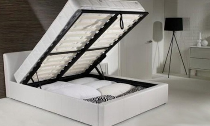 Beds And Mattress World   UK: Ottoman Storage Bed Frame From £134.99 Plus  Memory