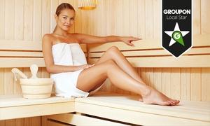 Sierich Sauna: Sauna-Tageskarte, optional inkl. 30 Minuten Massage, für die Sierich Sauna (bis zu 38% sparen*)