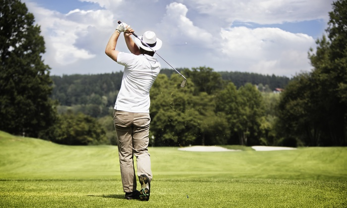 Pine View Golf Course - Pine View Golf Course: $45 for 18-Hole Round of Golf with Cart Rental for Two at Pine View Golf Course in Ypsilanti ($88 Value)