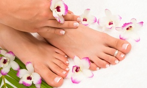 Signature Nails: Mani-Pedi, Pedicure, or Gel Manicure and Regular Pedicure at Signature Nails (Up to 57% Off)