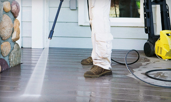 5 Star Property Maintenance and Pressure Washing - Tampa Bay Area: Pressure Washing for Up to 2,000 or 4,000 Sq. Ft. from 5 Star Property Maintenance and Pressure Washing (Up to 70% Off)