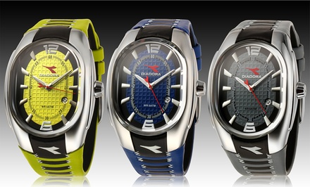 Diadora Men's Sporty Watch. Multiple Colors Available. Free Returns.