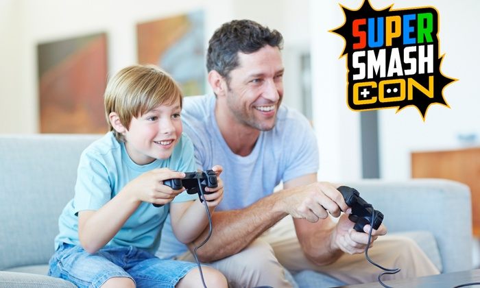 Super Smash Con - Chantilly: Up to 56% Off Video Game Convention at Super Smash Con