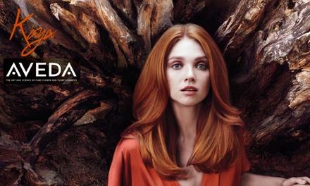 Single-Process Color or Partial or Full Highlights at Kaya Aveda Salon Spa (Up to 51% Off)