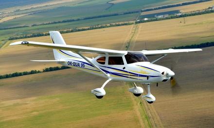 30 oder 45 Minuten lang selber fliegen im Ultraleichtflugzeug Sirius 3000 von Partner Air