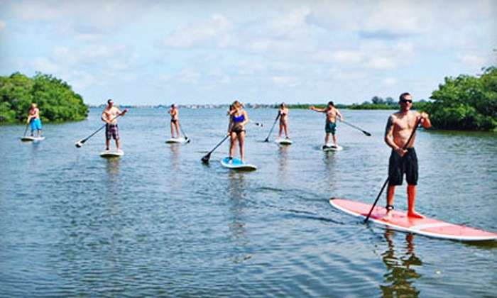 Siesta Key Paddleboards - Denham Acres: $24 for a Paddleboard Lesson and One Hour of Paddling at Siesta Key Paddleboards in Sarasota ($55 Value)