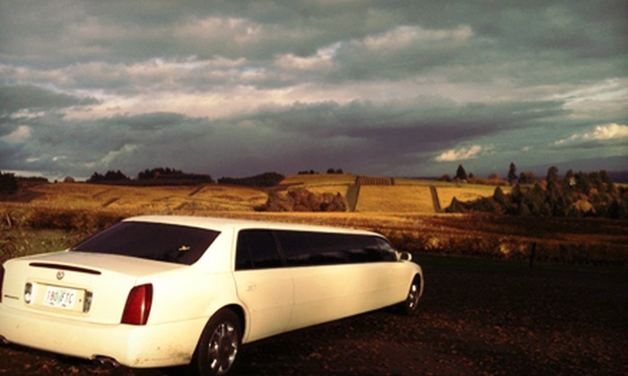 G-Limos - Multiple Locations: $49 for a Five-Hour Yamhill County or Columbia River Gorge Wine Tour from G-Limos ($102 Value)