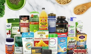 LuckyVitamin.com: $15 for $30 Towards Vitamins, Foods, Natural Skincare and More Natural and Organic Products from LuckyVitamin.com
