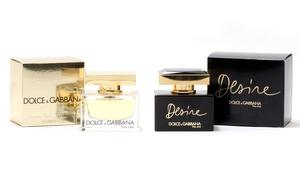 Dolce & Gabbana The One Or The One Desire Eau De Parfum For Women; 1.6 Fl. Oz.