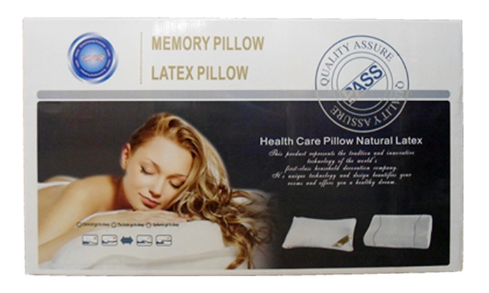 ASP: Two Comfort Latex Pillows for R549 Including Delivery (58% Off)