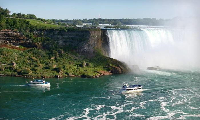 Courtyard by Marriott Niagara Falls - Niagara Falls, ON: One-Night Stay with Breakfast, Dining Credit, and Shuttle Passes at Courtyard by Marriott Niagara Falls